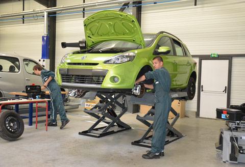 Maintenance auto